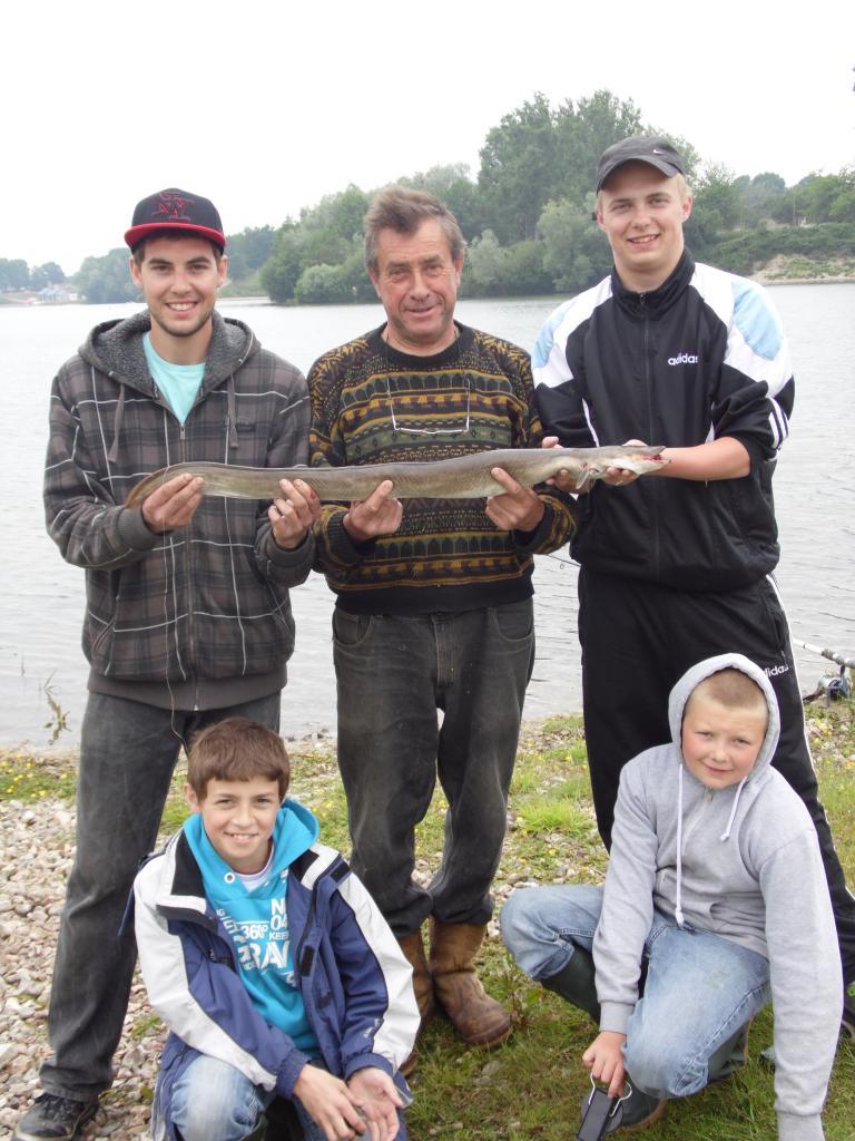 anguille 97cm 1.8kg
